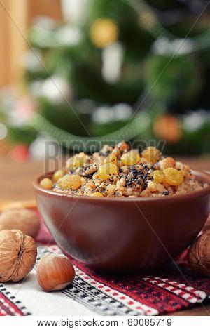 Kutia In Ceramic Bowl