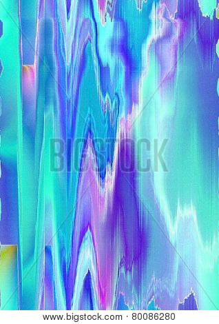 Abstract pattern zigzag shape in the bluish and purple shades