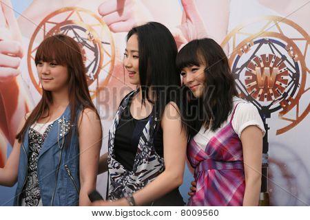 Wonder Girls in Singapore