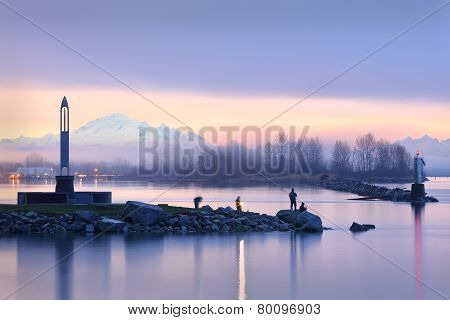 Morning Fishermen, Steveston Harbor