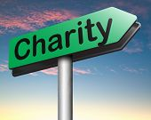 charity money or gift donation , donate and give for a good cause help the poor and needy poster