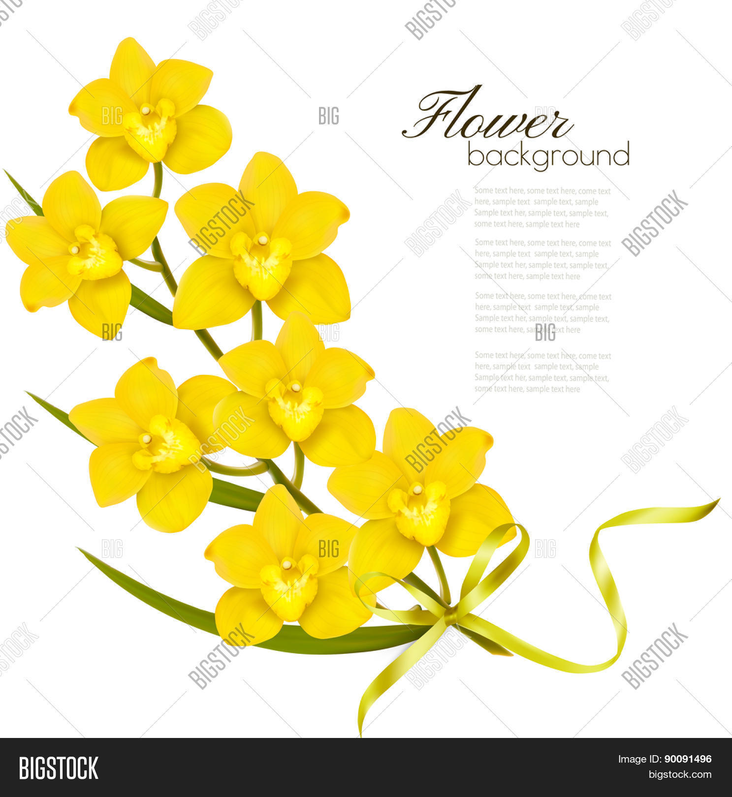 Holiday Yellow Vector Photo Free Trial Bigstock