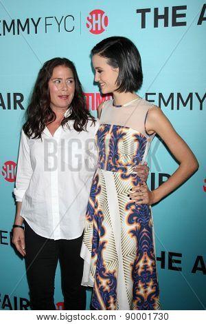 LOS ANGELES - MAY 5:  Maura Tierney, Julia Goldani Telles at the Showtime's