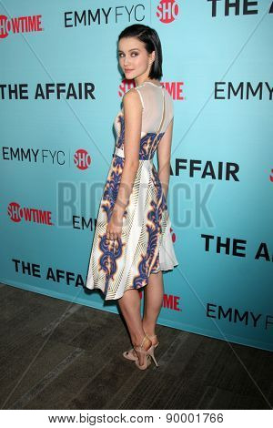 """LOS ANGELES - MAY 5:  Julia Goldani Telles at the Showtime's """"The Affair"""" Screening Event And Panel Discussion at the Samuel Goldwyn Theater on May 5, 2015 in Beverly Hills, CA"""