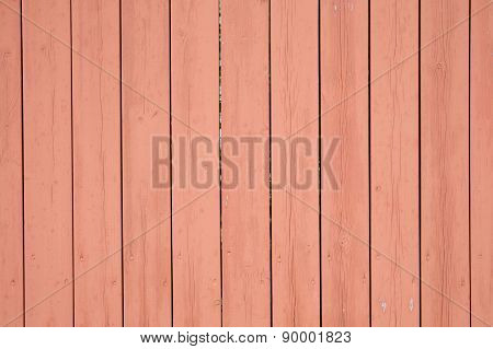 Background Image Of A Wooden Wall Painted In Pink Color