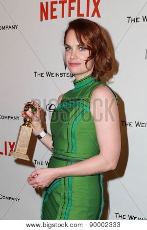 LOS ANGELES - JAN 11:  Ruth Wilson at the The Weinstein Company / Netflix Golden Globes After Party at a Beverly Hilton Adjacent on January 11, 2015 in Beverly Hills, CA