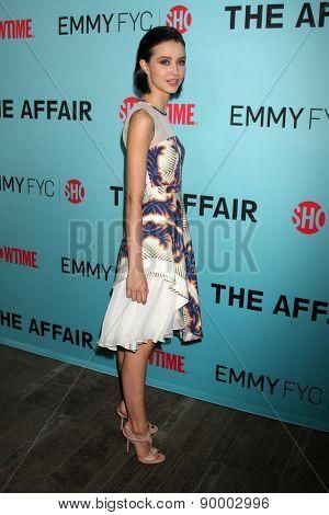 LOS ANGELES - MAY 5:  Julia Goldani Telles at the Showtime's