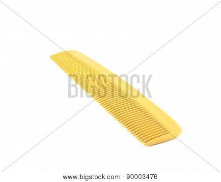 Close Up Of Used Comb