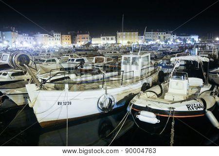 Boat Marina In Rovinj