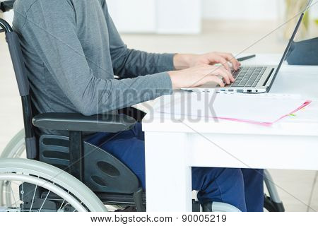 Handicapped student