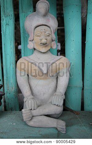 Stone artifacts in Manabi, Ecuador