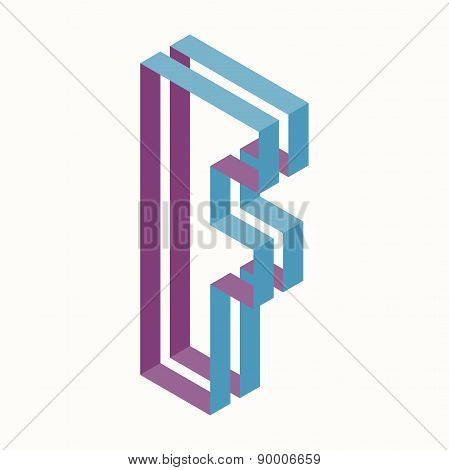 Letter F Logo Icon Design Template Element