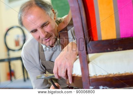 Repairing a chair