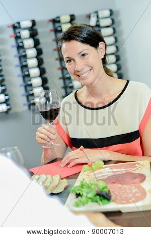 Couple having a fancy meal