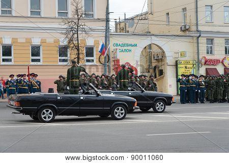 Rehearsal Of Military Parade