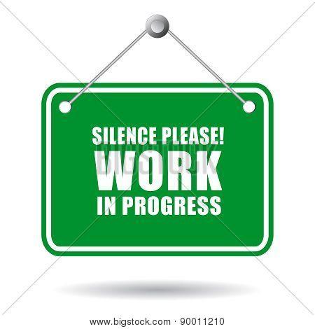 Silence work in progress