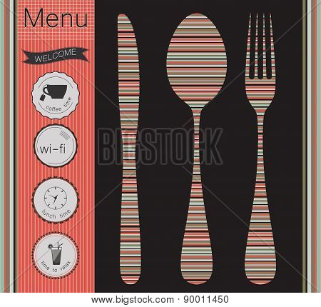 Menu Labels Set