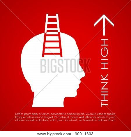 Think high poster