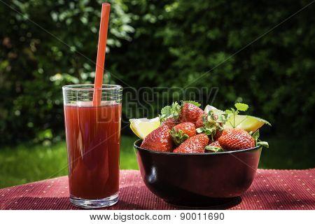 Strawbery Juice
