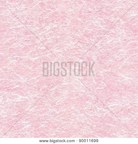 Seamless Texture Of Pink Rice Paper.