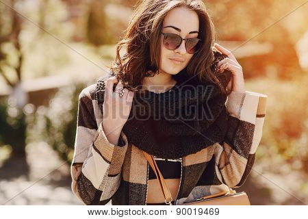 Fashionable Young Woman