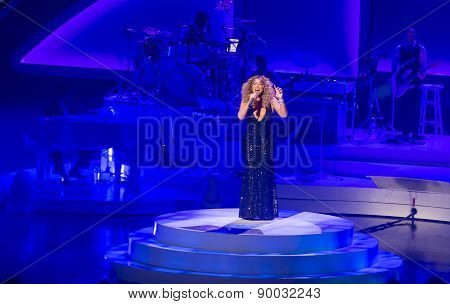 Mariah Carey Launches 'mariah 1 To Infinity' At Caesars Palace In Las Vegas