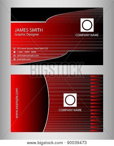 Premium Business Card Design Vector Set