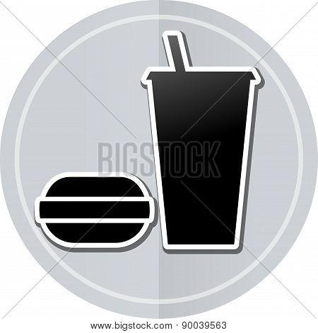 Food Sticker Icon
