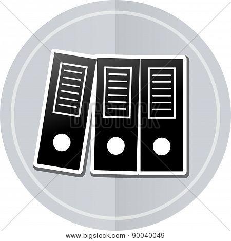 Binders Sticker Icon