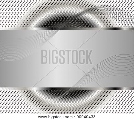 Gray background template