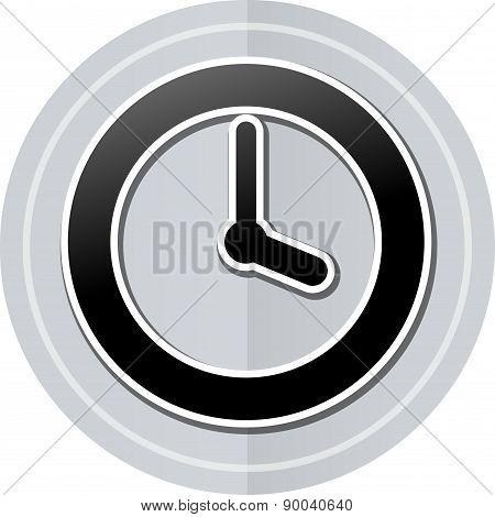 Time Sticker Icon