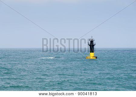 Lighthouse At The Jeju Beach