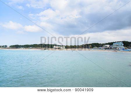 Iho Teu Beach In Jeju Island