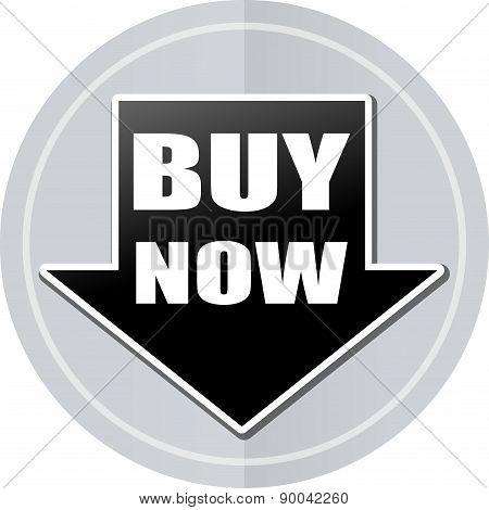 Buy Now Sticker Icon