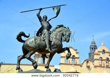 Rodrigo Diaz de Vivar (El Cid) statue