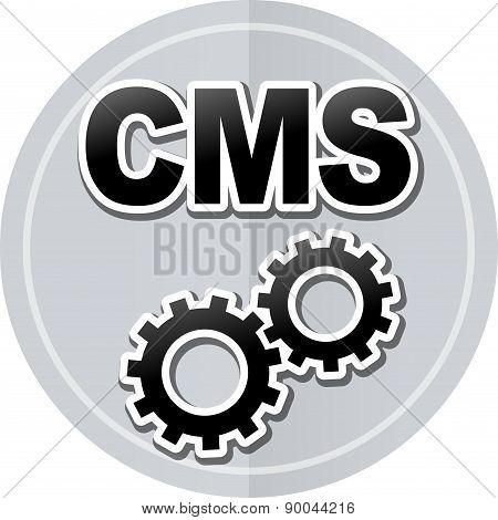 Cms Sticker Icon