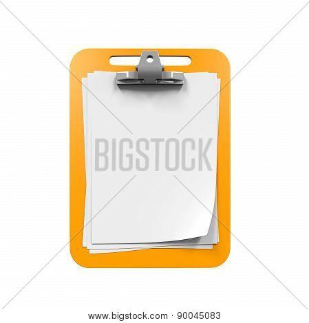 Yellow Clipboard