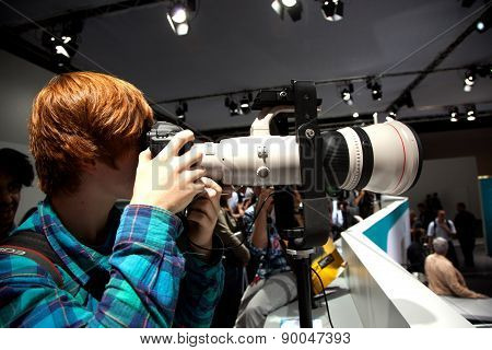 Photokina - World Of Imaging In Cologne
