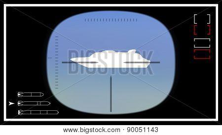 Submarine Periscope Template 02
