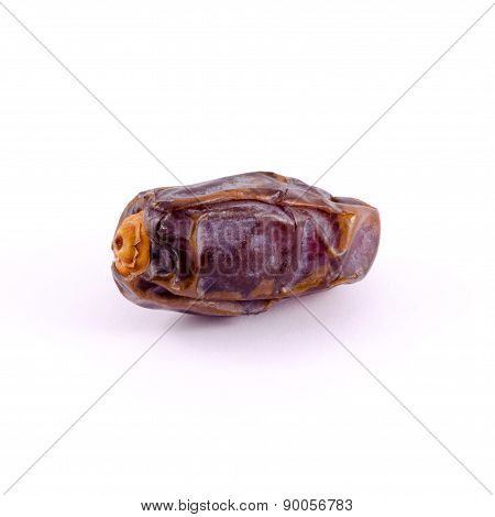 The Medjool date isolated on white background