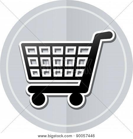 Shopping Sticker Icon