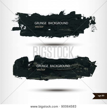 Splash banners. Watercolor background. Grunge background.