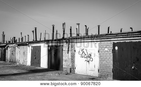 Industrial Garages And Chimney Vents