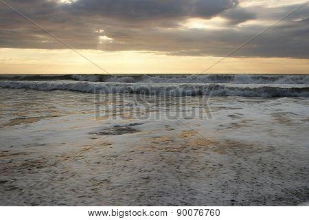 Rumbling White Waves