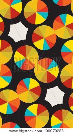 Golden Compact Disc Pattern