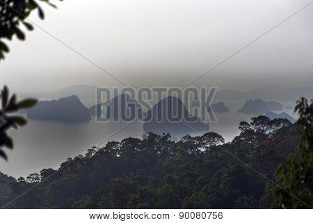 Aonang Beach. Coastal Line, Islands