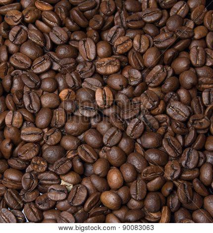 Scattering Of Black Coffee
