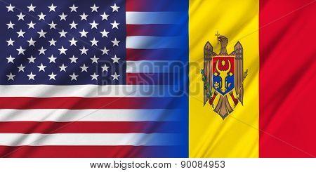Usa And Moldova.