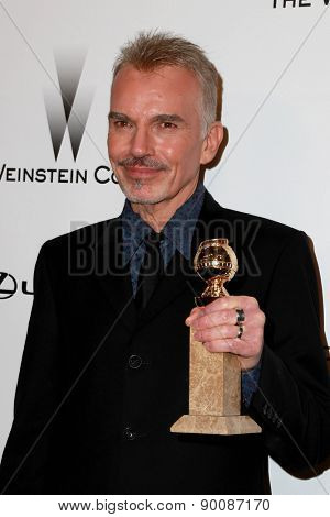 LOS ANGELES - JAN 11:  Billy Bob Thornton at the The Weinstein Company / Netflix Golden Globes After Party at a Beverly Hilton Adjacent on January 11, 2015 in Beverly Hills, CA