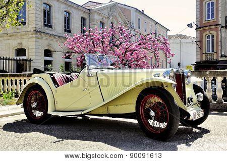 Mg Sports Car In 1953 Years